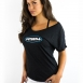 Women's Short Sleeve Boat Neck Tee