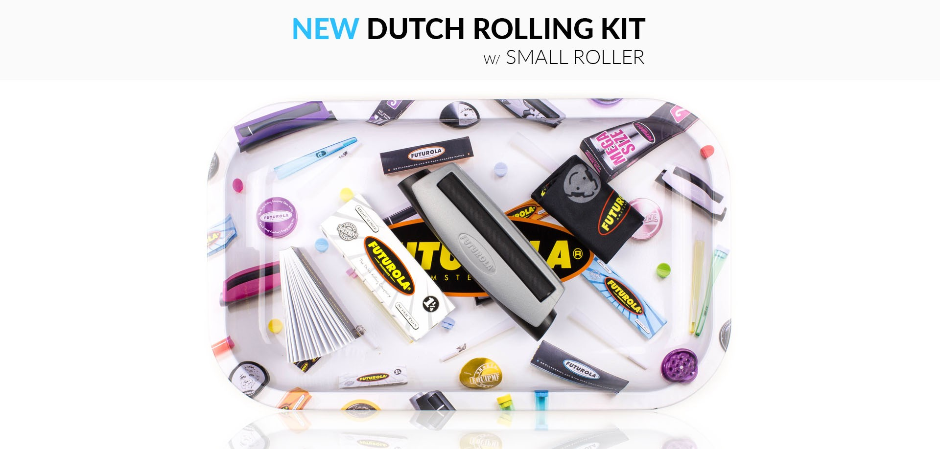 DUTCH ROLLING KIT W/ SMALL ROLLER