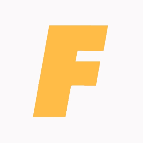 Classic White Cone x Orange Futurola Logo on Filter Tip