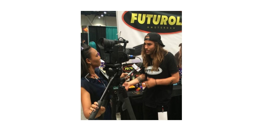 Fox Visits with Futurola at Champs Trade Show